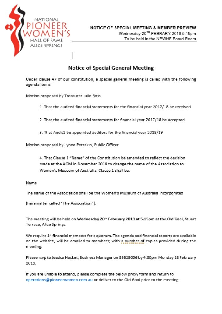 Special General Meeting Png