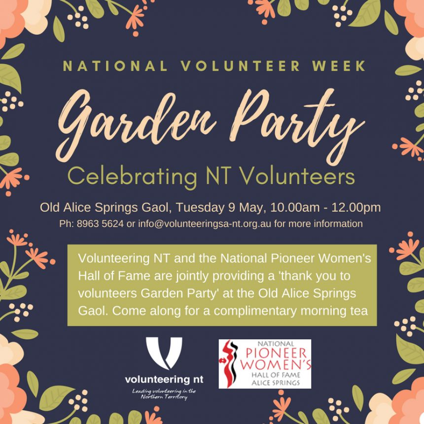 Alice Springs Nvw Garden Party 9 May17