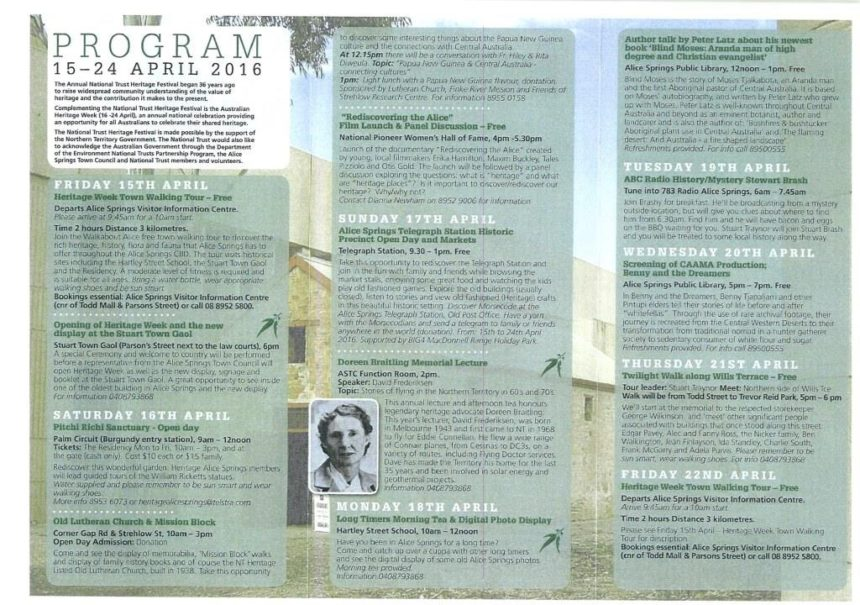 Heritage Week Program Page 1 Compressed